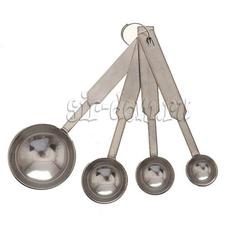 Набор мерных ложечек (металлических)